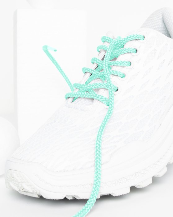 Pastel-Mint Womens Round Shoelaces Style# 3001 | We Love Colors