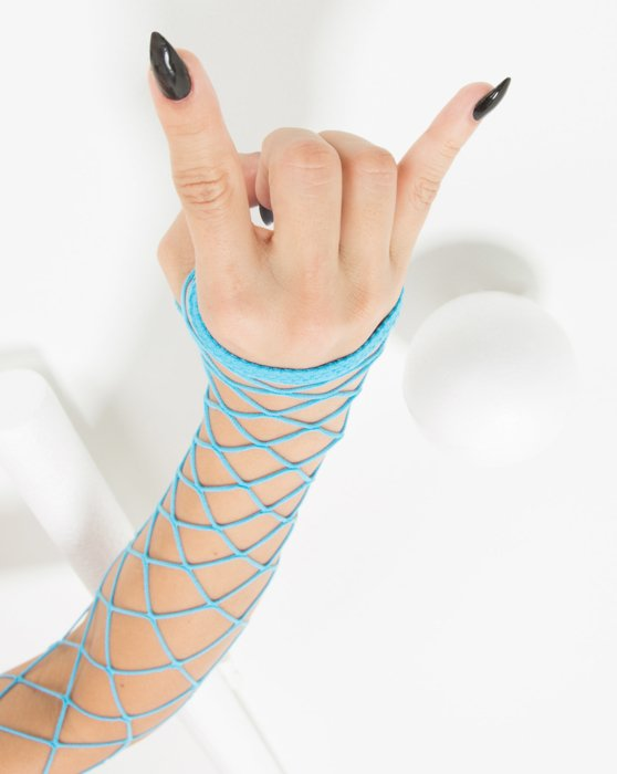 Womens Fence Net Arm Warmers Style# 3123 | We Love Colors
