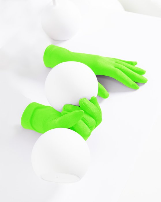 Neon-Green Kids Gloves Style# 3171 | We Love Colors