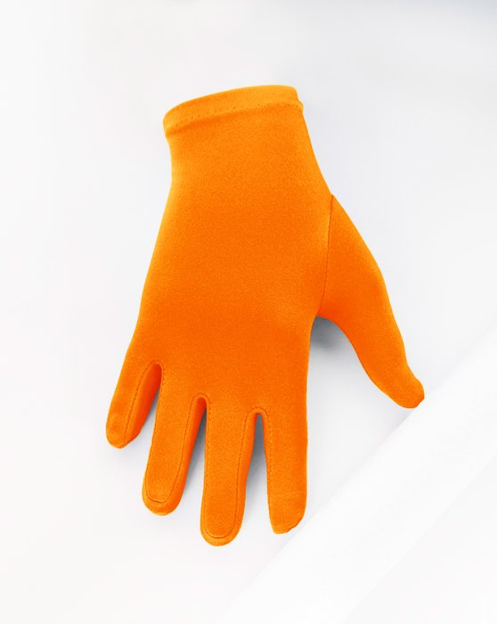 Neon-Orange Kids Gloves Style# 3171 | We Love Colors
