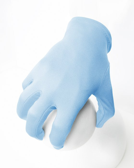 Baby-Blue Wrist Gloves Style# 3405 | We Love Colors