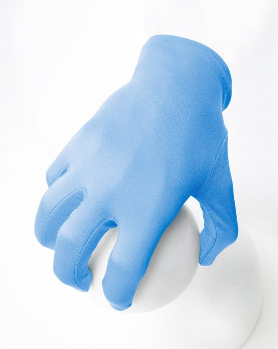 Sky Blue Womens Wrist Gloves Style# 3405 | We Love Colors
