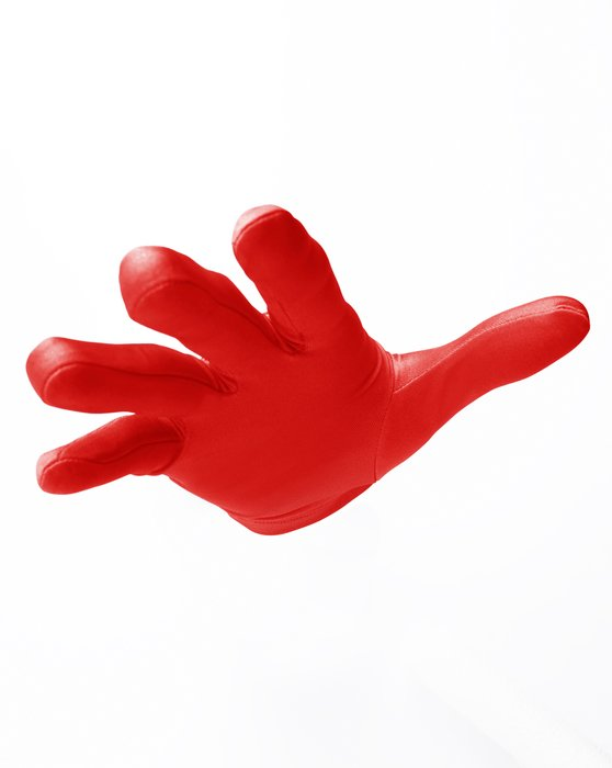 Scarlet-Red Wrist Gloves Style# 3405 | We Love Colors