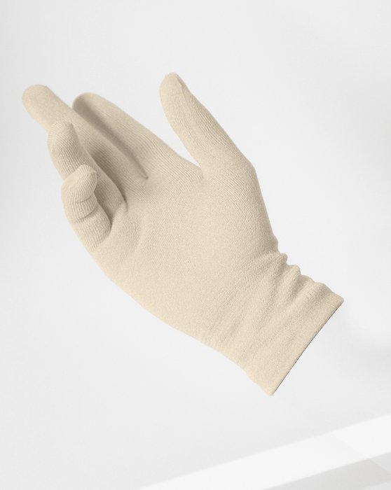 Light Tan Short Matte Seamless Gloves Style# 3601 | We Love Colors