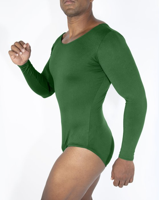 Emerald Womens Long Sleeve Scoop Neck Leotard Style# 5002 | We Love Colors