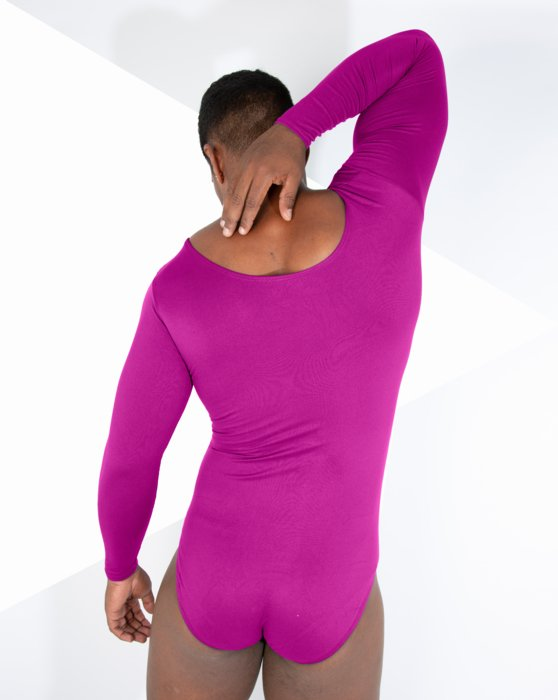 Mens Long Sleeve Scoop Neck Leotard Style# 5002 | We Love Colors