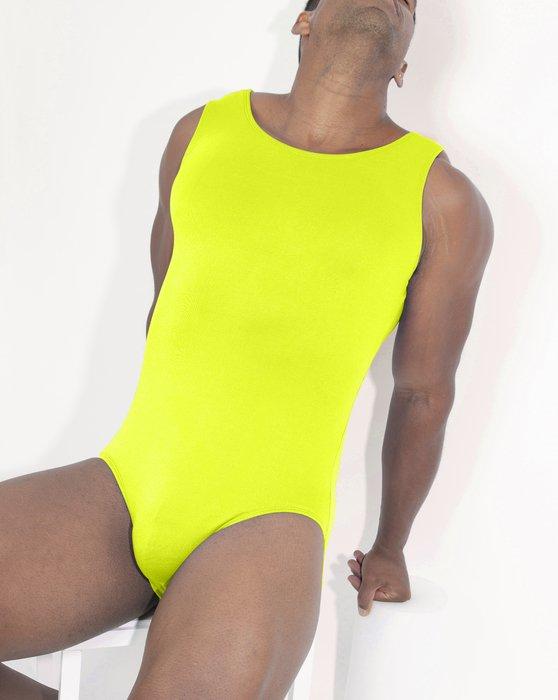 Neon Yellow Womens Tank Leotard Style# 5006 | We Love Colors