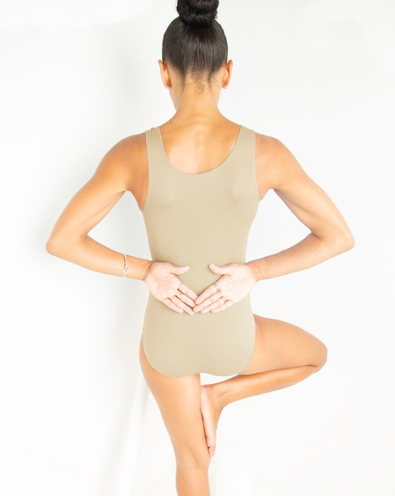 Light Tan Womens Tank Leotard Style# 5006 | We Love Colors