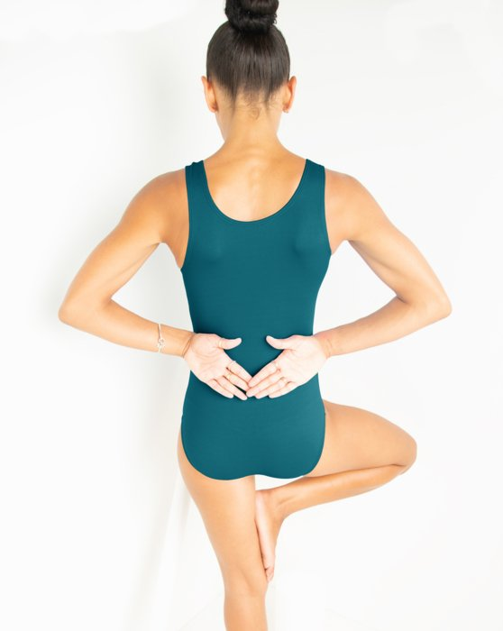 Teal Womens Tank Leotard Style# 5006 | We Love Colors