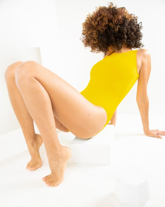 Yellow Tank Leotard Style# 5006 | We Love Colors
