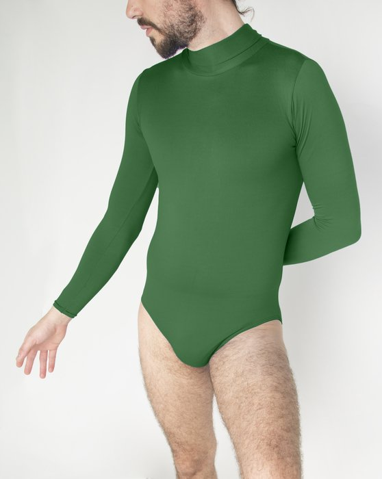 Emerald Long Sleeve Mock Turtleneck Leotard Style# 5008 | We Love Colors