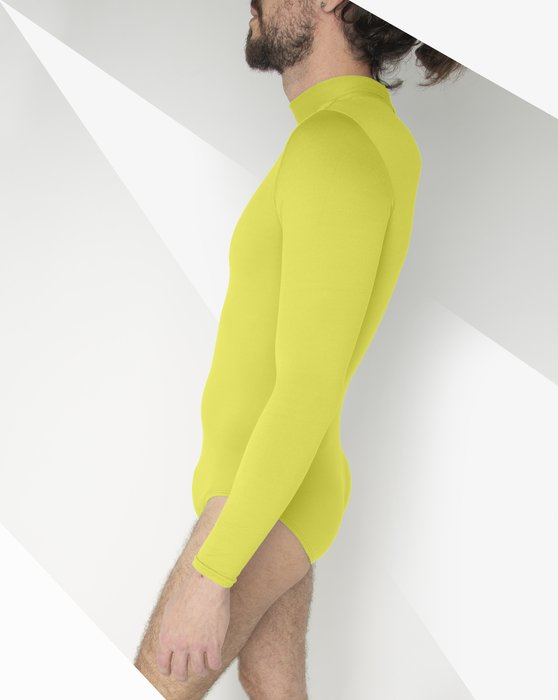 Maize Long Sleeve Mock Turtleneck Leotard Style# 5008 | We Love Colors