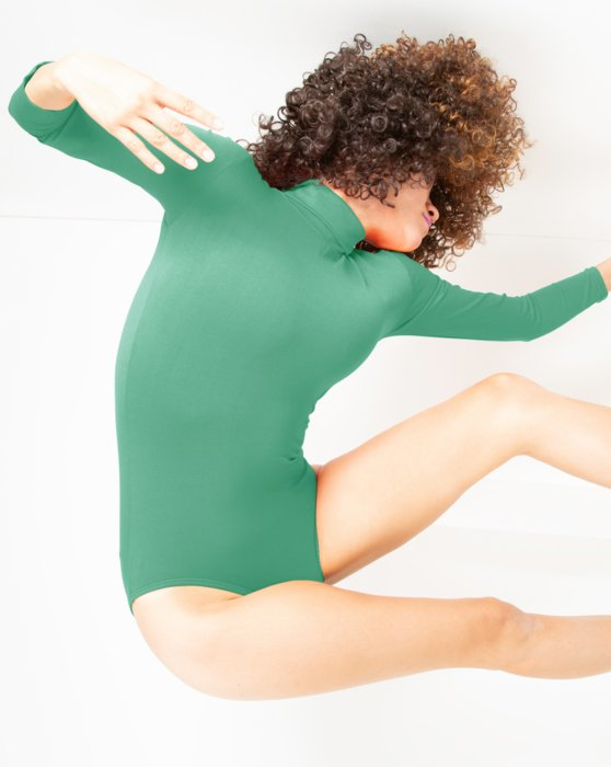 Womens Long Sleeve Mock Turtleneck Leotard Style# 5008 | We Love Colors