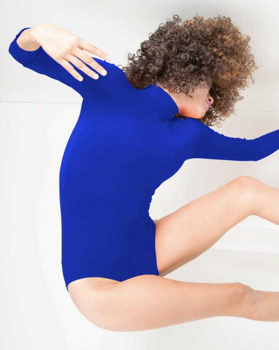 Long Sleeve Mock Turtleneck Leotard Style# 5008 | We Love Colors