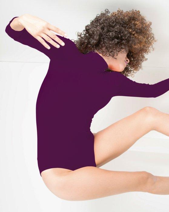 Rubine Long Sleeve Mock Turtleneck Leotard Style# 5008 | We Love Colors