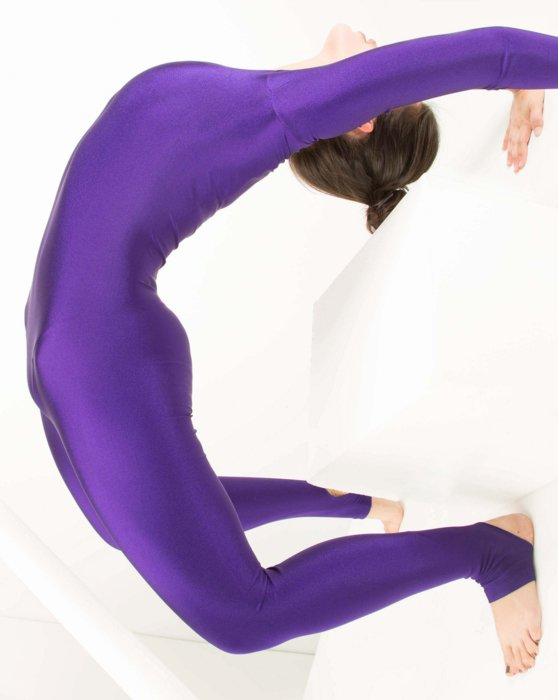 Violet Womens Long Sleeve Unitard Style# 5009 | We Love Colors