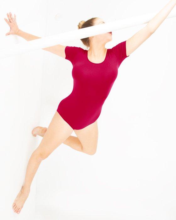 Womens Short Sleeve Bodysuit Style# 5013 | We Love Colors