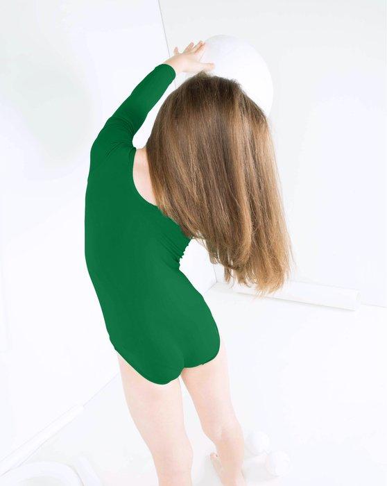 Emerald Kids Long Sleeve Scoop Neck Leotard Style# 5072   We Love Colors