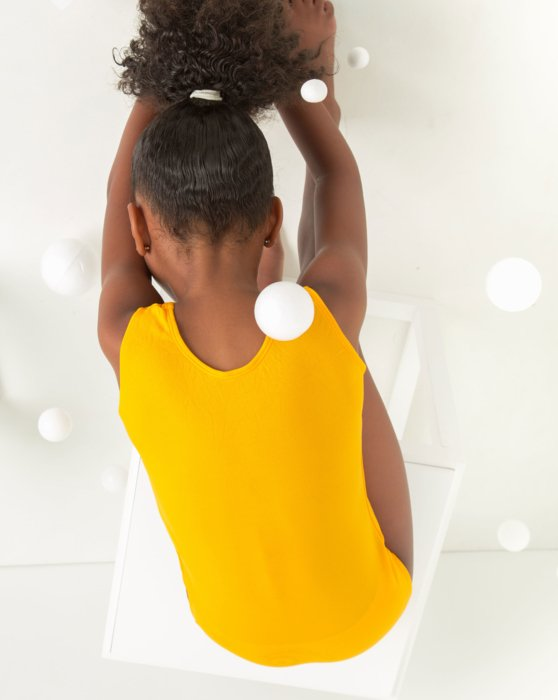 Gold Closeout Kids Tank Leotard Style# 5075   We Love Colors