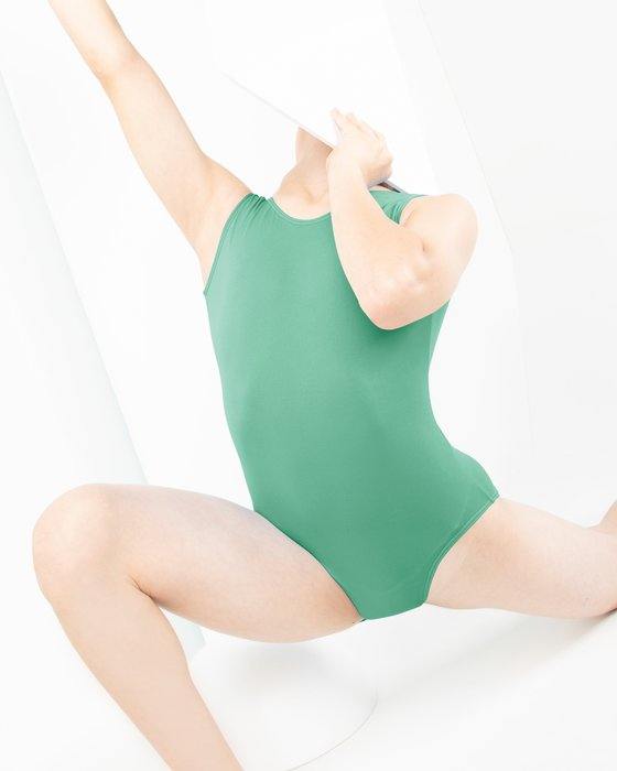 Scout-Green Kids Tank Leotard Style# 5076 | We Love Colors