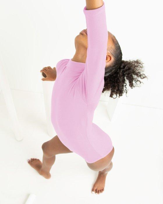 Closeout Kids Long Sleeve Mock Turtleneck Leotard Style# 5077 | We Love Colors