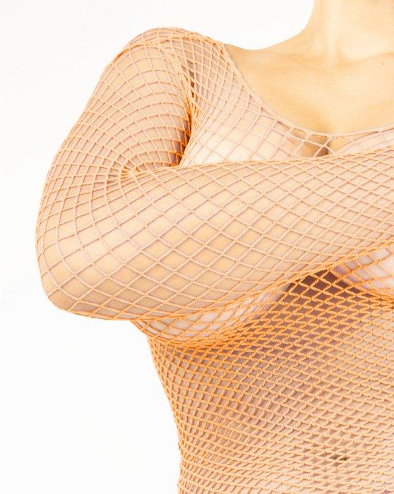 Fishnet Long Sleeve Shirt Style# 6001 | We Love Colors