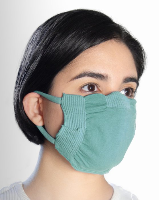 Dusty Green Washable Color Mask Style# 8021 | We Love Colors