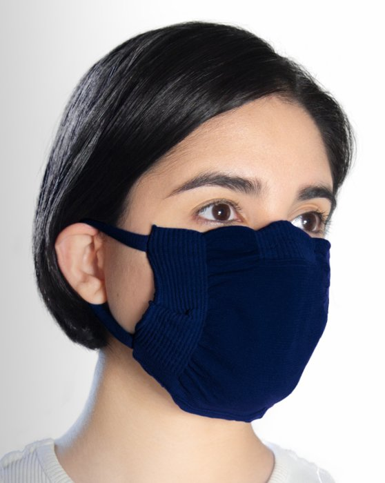 Navy Washable Color Mask Style# 8021 | We Love Colors