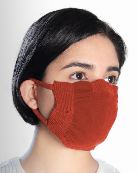 Rust Washable Color Mask Style# 8021 | We Love Colors