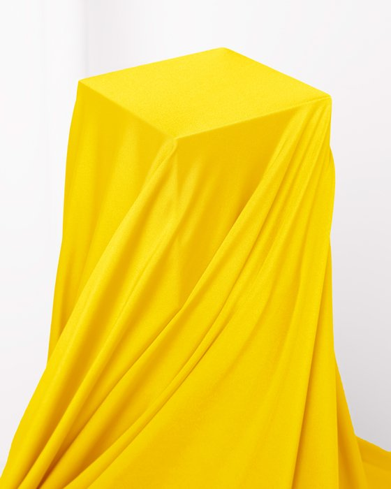 Yellow Fabric Shiny Tricot Style# 8079 | We Love Colors