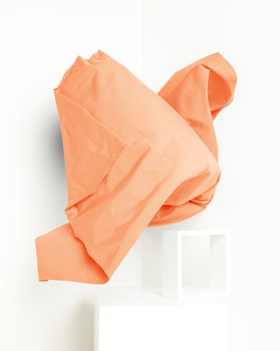 Orange Fabric Dull Tricot Style# 8101   We Love Colors