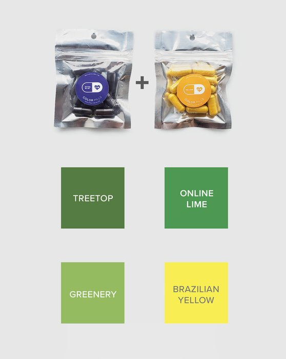 Color Pill Pack Of Pro Dyes For Nylon Style# 8701 | We Love Colors