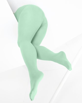 Dusty Green Womens Tights We Love Colors