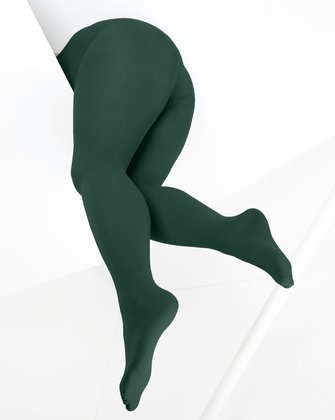 Hunter Green Womens Tights We Love Colors
