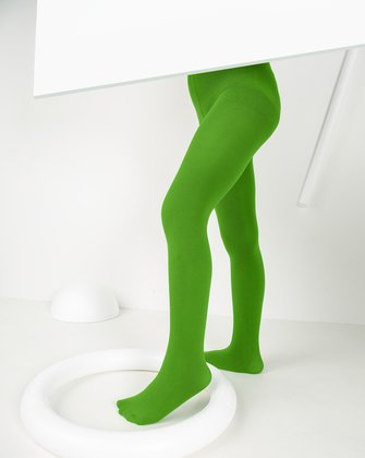Kelly Green Kids Tights We Love Colors