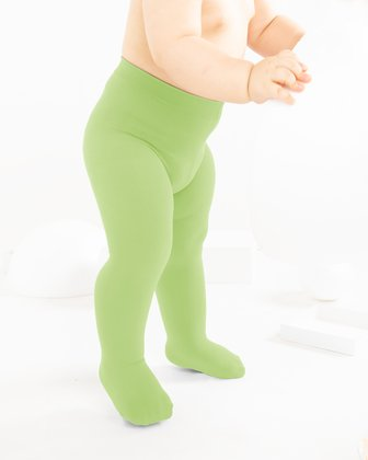 Mint Green Kids Tights We Love Colors