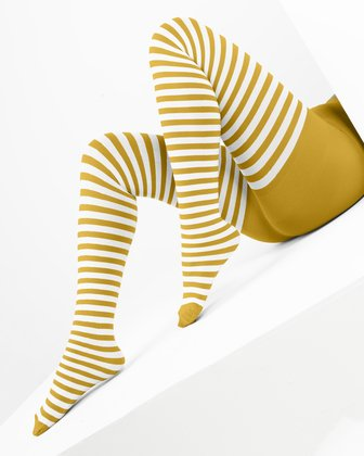 Gold Tights And Hosiery | We Love Colors