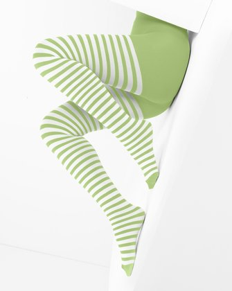 Mint Green Womens Patterned Tights We Love Colors