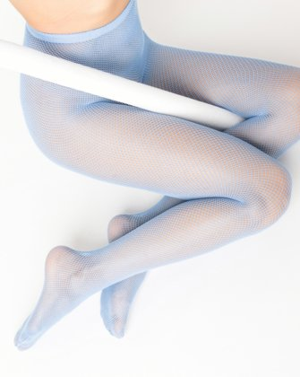 Baby Blue Womens Fishnet Pantyhose | We Love Colors