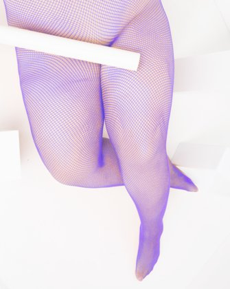 Lavender Womens Fishnet Pantyhose | We Love Colors