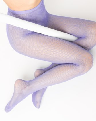 Lilac Womens Fishnet Pantyhose | We Love Colors