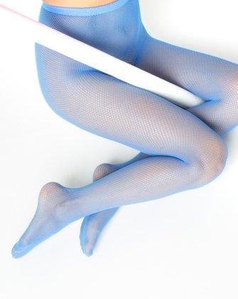 Medium Blue Womens Fishnet Pantyhose We Love Colors