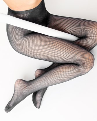 Charcoal Womens Fishnet Pantyhose We Love Colors
