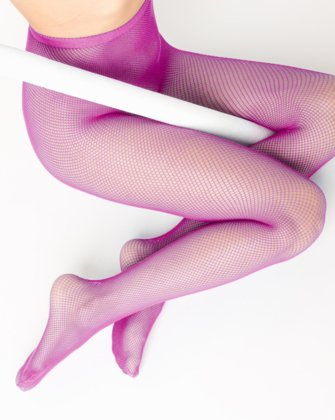 Fuchsia Womens Fishnet Pantyhose We Love Colors