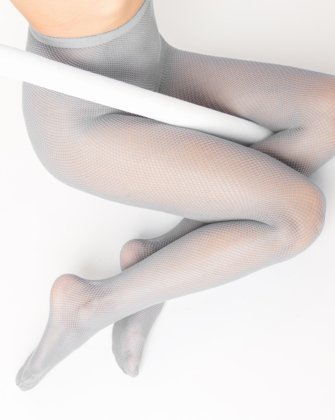 Light Grey Womens Fishnet Pantyhose We Love Colors