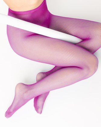 Magenta Womens Fishnet Pantyhose We Love Colors