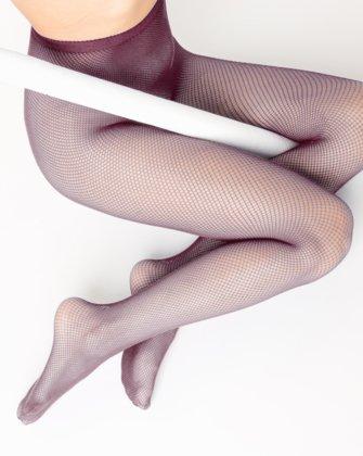 Maroon Womens Fishnet Pantyhose We Love Colors