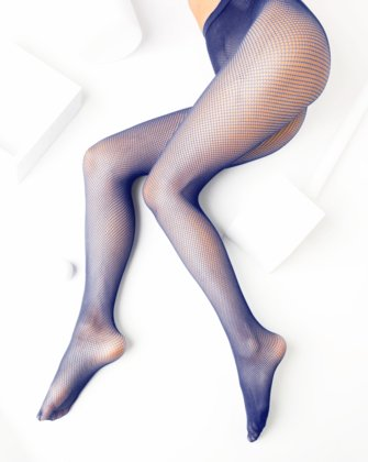 Navy Womens Fishnet Pantyhose We Love Colors