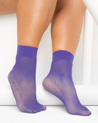 Lavender Womens Socks We Love Colors