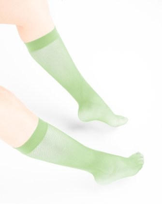 Mint Green Womens Knee Highs We Love Colors